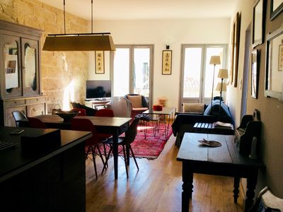 Photo for Apartment located in the heart of the historic city - 50 m of the Place aux Herbes