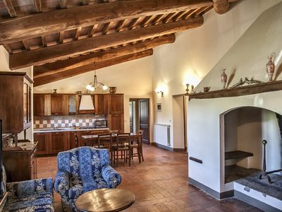Photo for Apartment situated in the heart of Tuscany - The Court - 9