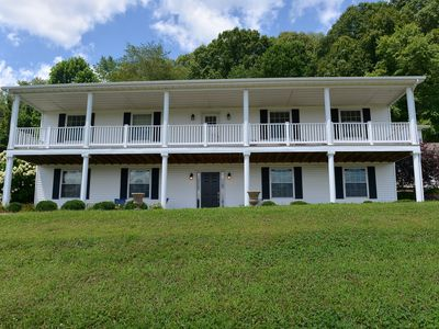 Photo for Classic Family Farmhouse with AMAZING Views - Hocking Hills 4BR, 3 Bath, Hot Tub