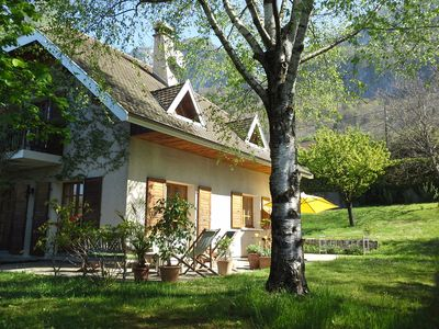 Photo for House 6/8 pers - lake Annecy - Veyrier du Lac