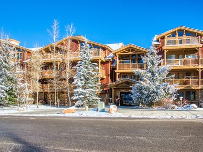 Photo for Condo in Silver Lake at Deer Valley Resort w/ ski shuttle, & shared pool/hot tub