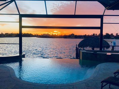 Photo for Enjoy Beautiful Sunsets on Brittania Lake with Gulf Access