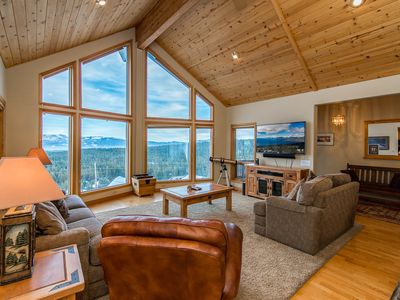 Photo for Charming 4BR Tahoe Donner Chalet in Truckee