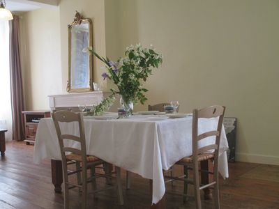 Photo for Lovely holiday apartment in the centre of Duras. S.W. France