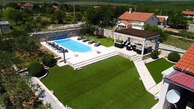 Photo for NEW!!HEATED POOL!! Stunning property for 8 people, surrounded by nature, privacy