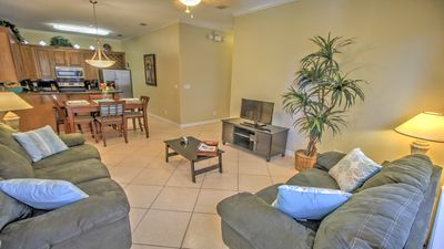 Photo for Luxury next to beach, FREE cleaning, All tax incl, 2BR, 2 bath, pool, grill, W/D