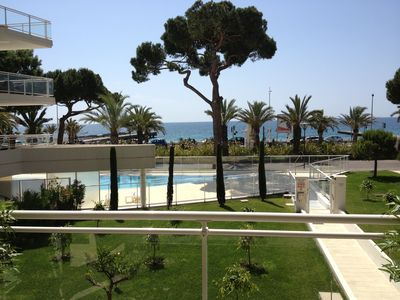 Photo for Apartment Cannes ROYAL PALM Waterfront, residence with swimming pools