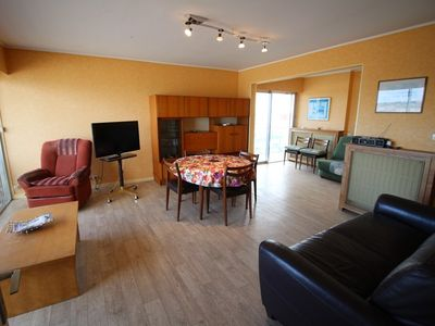 Photo for T2 spacious and bright with sea view