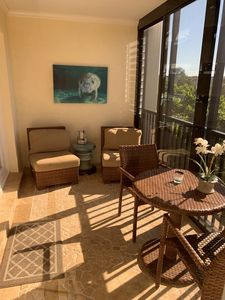 Photo for NEW LISTING! Beautifully Updated & Decorated Gulf Side Garden View Condo