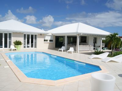 Photo for Villa with pool, quiet and near the beaches and the villages of Saint Francois