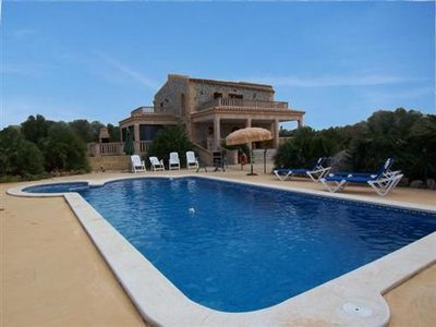 Photo for Gosse Finca Son Palazzo in Can Picafort on Mallorca, for 12 people with pool.