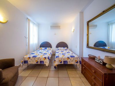 "Photo for Apartment a short walk away (160 m) from the ""Cala Anguila"" in Porto Cristo Novo with Internet, Washing machine, Air conditioning, Pool (87717)"