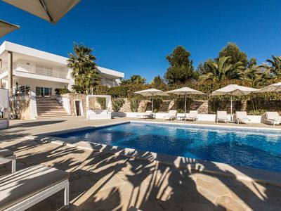 Photo for Villa Chakra, luxury property in Ibiza, it can host up to 22 people, ideal for big groups of friends
