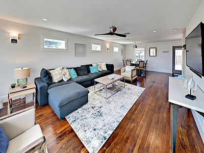 Photo for Brand-New Home w/ Modern Furnishings & Large Fenced Yard - 2 Blocks from Bay!