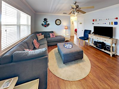 Living Room - Welcome to Gulf Shores! Your rental is professionally managed by TurnKey Vacation Rentals.
