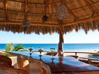 Photo for Casa Cuervo Beach Front Villa in Playa Tortuga - Baja Ca Sur