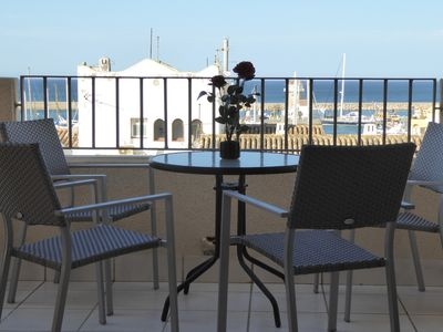 Photo for Porto Fino Apartment with Marina and Sea Views (Wi-Fi included)