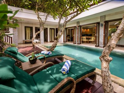 Photo for FAMILY VILLA IN HEART OF SEMINYAK