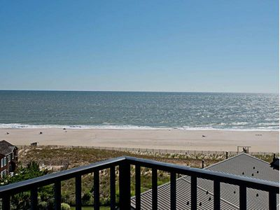 Photo for A809: Updated 1BR Sea Colony Oceanfront Condo! Private Beach, Pools, Tennis ...