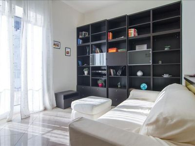 Photo for Correra  apartment in Montecalvario with WiFi, private parking, balcony & lift.