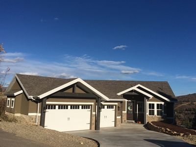 Photo for Beautiful, New 3 Bedroom Mountain Home. Located In The Park City Area