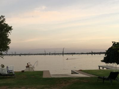 Photo for Lakehouse At Mulwala - Two Jetties and Private Boat Ramp