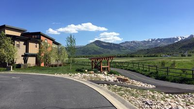 Photo for Park City at an affordable price - right on the walking / riding path
