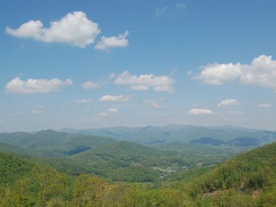 Photo for Enjoy spectacular views in Mountain Air! Luxury home in Burnsville, NC Best views in the mountains!