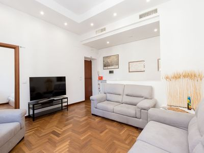 Photo for Beautiful apartment for 6 people with A/C, WIFI, TV and balcony