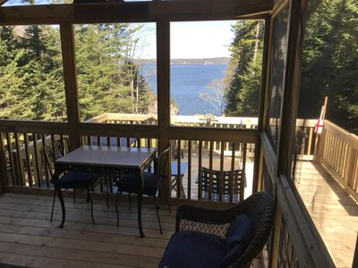 Photo for Periwinkle Cottage, CAMPOBELLO ISLAND ON THE OCEAN WITH SCREENED IN PORCH!!!