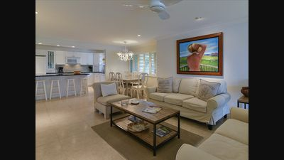 Photo for Tranquility at Ocean Reef- Waterfront Condo, Pool, Dock
