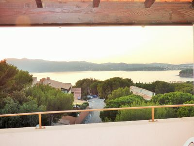 Photo for Sea view, residence with swimming pool, tennis courts, children's park.