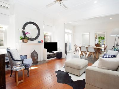 Photo for Bright Home in Quiet Suburb Close to City