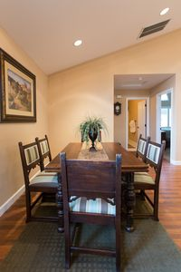 Dining area.  Seats 6 guests