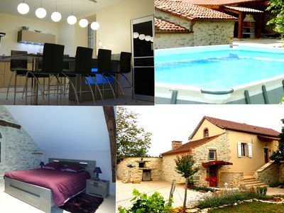 Photo for House Quercynoise / 2-5 people. located between CAHORS and St Cirq Lapopie