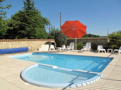 Photo for Large, detached, character house, private heated pool, Wi-Fi