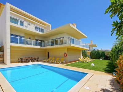 Photo for 4 bedroom Villa, sleeps 8 in Patroves with Pool, Air Con and WiFi