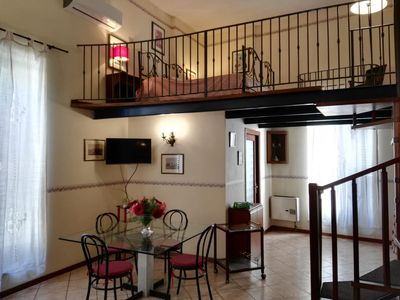 Photo for Charming Apartment with Loft in Palermo Centre, Fully Equipped (apt. n. 23)