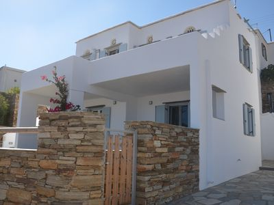 Photo for Modern new villa with  Aegean Sea View