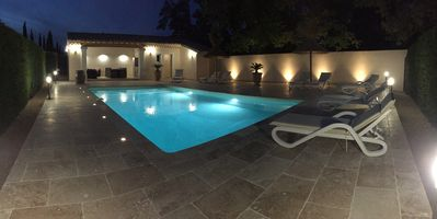 Photo for NEW Superb villa - heated swimming pool fence - 4000m garden - St-Rémy de Pce