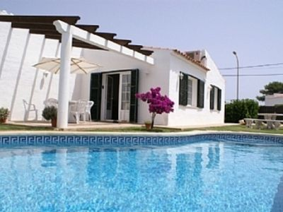 Photo for 3 Bedroom 2 Bathroom  detached vila with private pool with air con and WiFi