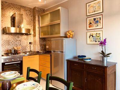 Photo for Completely renovated apartment with terrace and equipped with every comfort.