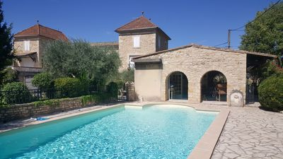 Photo for Introductory offer - Comfortable room in a character house with swimming pool