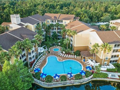 Photo for Near Disney 2 BR Condo w/ Mini Kitchen, Sleeper Sofa & Resort Pools