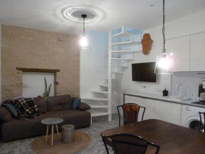 """Photo for """"PLACE-DIT"""" Duplex 37m2 AIR-CONDITIONED-PARKING-GARDEN"""