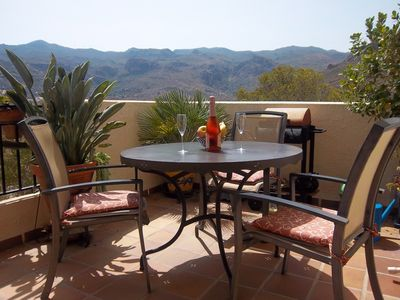 Photo for 2 Double rooms, B & B, in the Sierra Cabrera