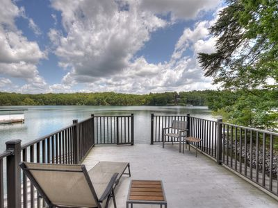 Discover true comfort and serenity steps from the water`s edge of Lake Blue Ridge