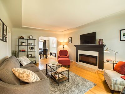 Photo for Newly Renovated 3 BDRM  Cambie Home Near King Edward Skytrain