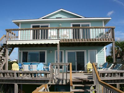Photo for Oceanfront 5BR Gorgeous Pelican Palace-BEST Rates-Well Equipped-Family Friendly!