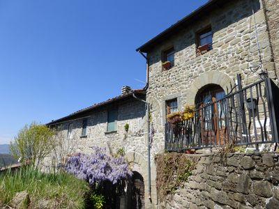 Photo for Rustic on the Tuscan hills